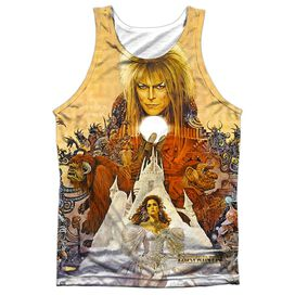 Labyrinth Cover Art Adult 100% Poly Tank Top