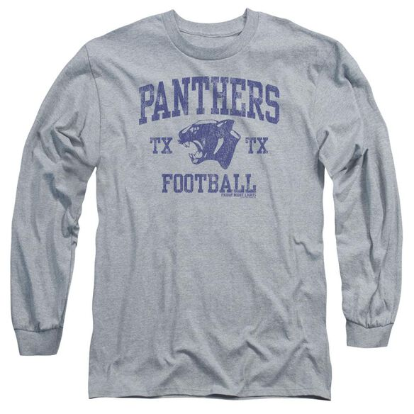 Friday Night Lights Panther Arch Long Sleeve Adult Athletic T-Shirt