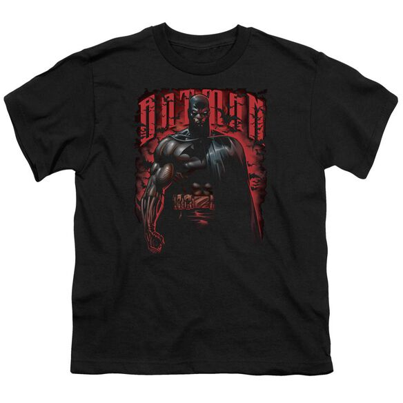 Batman Red Knight Short Sleeve Youth T-Shirt