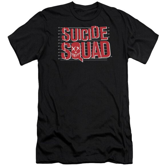 Suicide Squad Lineup Logo Premuim Canvas Adult Slim Fit