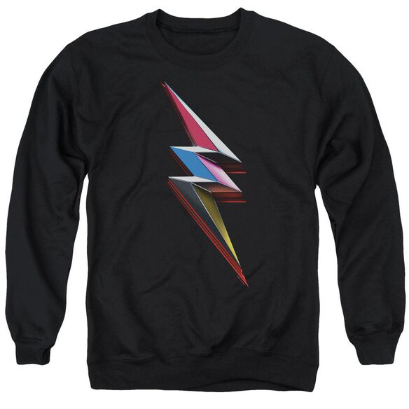 Power Rangers Movie Bolt Adult Crewneck Sweatshirt