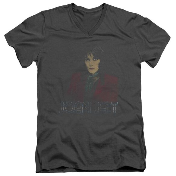Joan Jett Worn Jett Short Sleeve Adult V Neck T-Shirt