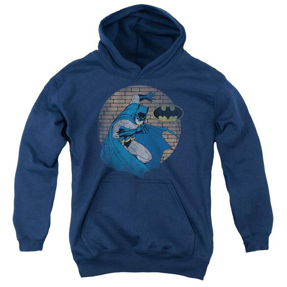 Batman In The Spotlight Youth Pull Over Hoodie