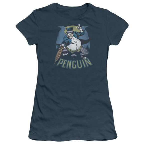 Dc The Penguin Short Sleeve Junior Sheer T-Shirt