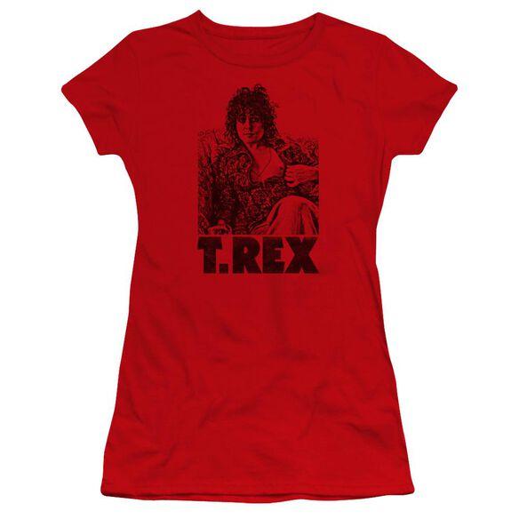 T Rex Lounging Premium Bella Junior Sheer Jersey