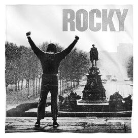 Rocky Poster Bandana White