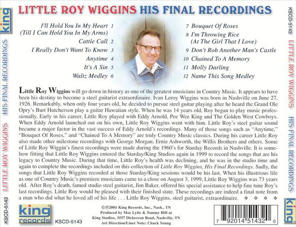 His Final Recordings