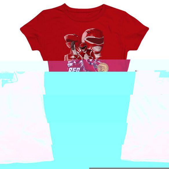 Power Rangers Ranger Hbo Short Sleeve Junior Sheer T-Shirt