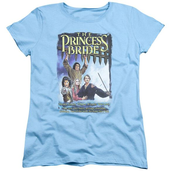 Princess Bride Alt Poster Short Sleeve Womens Tee Light T-Shirt