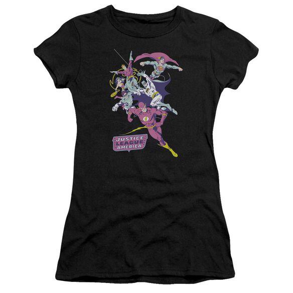 Jla Colorful League Short Sleeve Junior Sheer T-Shirt