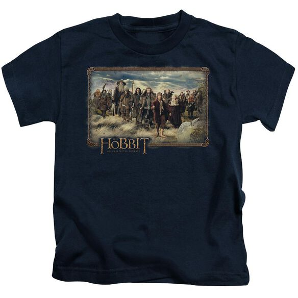 The Hobbit Hobbit & Company Short Sleeve Juvenile Navy Md T-Shirt