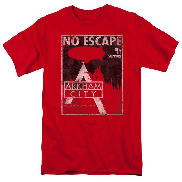 Arkham City No Escape Short Sleeve Adult T-Shirt