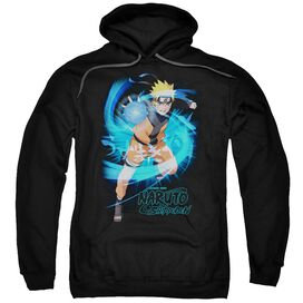 Naruto Shippuden Energy Blast Adult Pull Over Hoodie