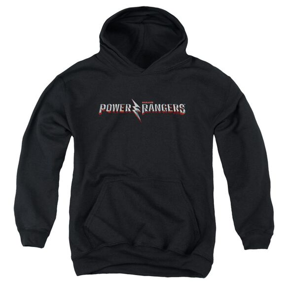 Power Rangers Movie Logo Youth Pull Over Hoodie