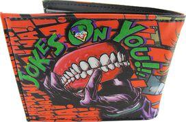 Joker Joke's On You Bifold Wallet