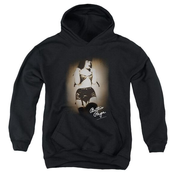 Bettie Page Caught Youth Pull Over Hoodie