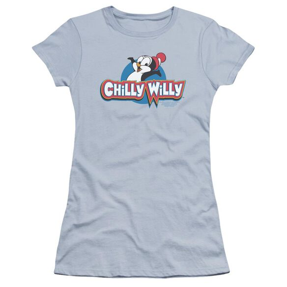 Chilly Willy Logo Premium Bella Junior Sheer Jersey Light