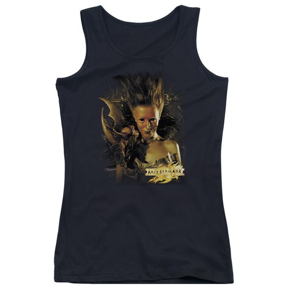 Mirrormask Queen Of Shadows Juniors Tank Top