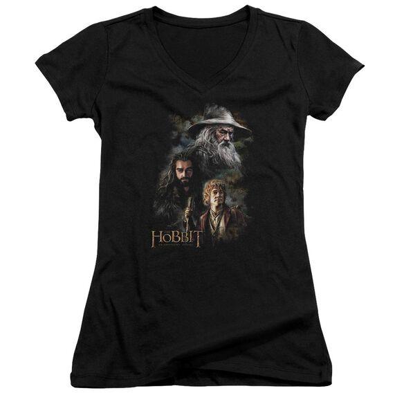 The Hobbit Painting Junior V Neck T-Shirt