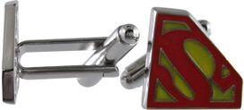 Superman Shield Logo Cufflinks