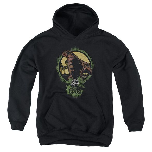 Kong Skull Island Wrath Of Kong Youth Pull Over Hoodie