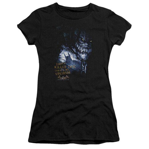 Batman Aa Arkham Killer Croc Short Sleeve Junior Sheer T-Shirt