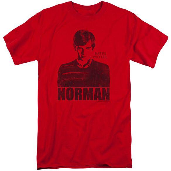 Bates Motel Norman Short Sleeve Adult Tall T-Shirt
