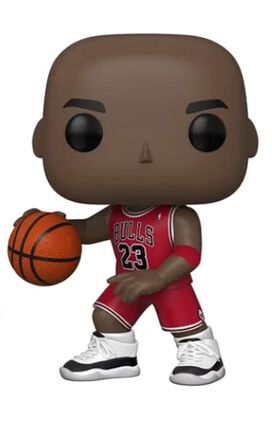 Funko Pop!: NBA Chicago Bulls - Michael Jordan [Red Jersey][10-inch]