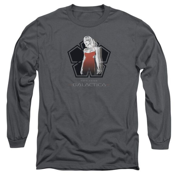 Bsg Cylon Tech Long Sleeve Adult T-Shirt
