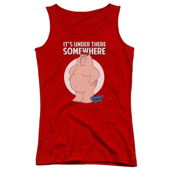 Family Guy Somewhere Juniors Tank Top