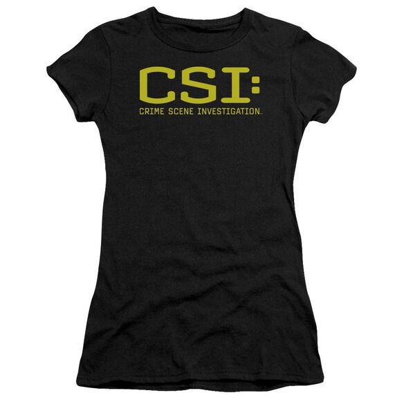Csi Logo Short Sleeve Junior Sheer T-Shirt