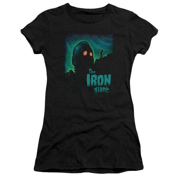Iron Giant Look To The Stars Short Sleeve Junior Sheer T-Shirt