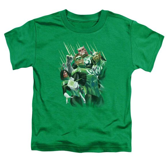 Gl Power Of The Rings Short Sleeve Toddler Tee Kelly Green Sm T-Shirt
