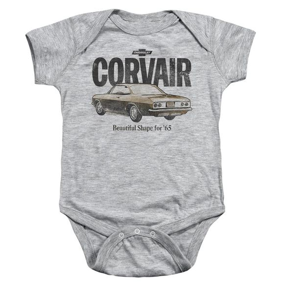 Chevrolet Retro Corvair Infant Snapsuit Athletic Heather