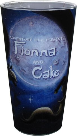 Adventure Time Presents Fionna and Cake Pint Glass