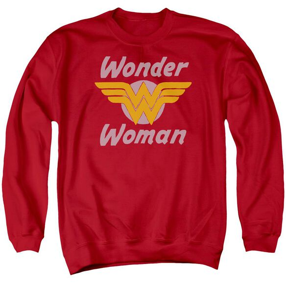 Dc Wonder Wings Adult Crewneck Sweatshirt