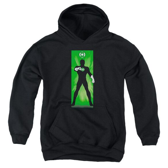 Dc Green Lantern Block Youth Pull Over Hoodie