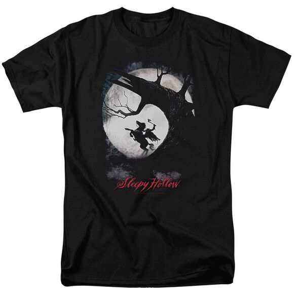 Sleepy Hollow Poster Short Sleeve Adult T-Shirt