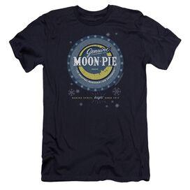 Moon Pie Snowing Moon Pies Premuim Canvas Adult Slim Fit
