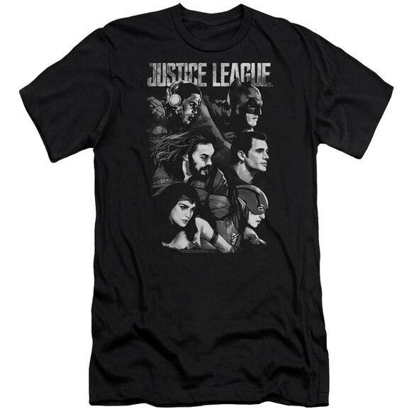 Justice League Movie Pushing Forward Short Sleeve Adult T-Shirt