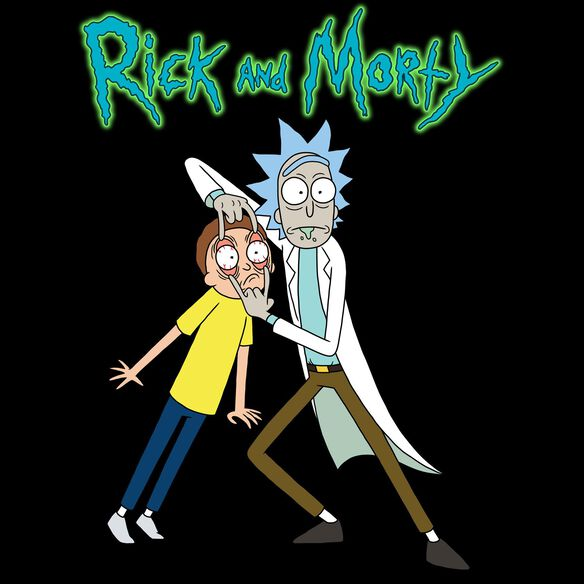 Exclusive Rick & Morty Look T-Shirt