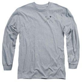 Twin Peaks Peak Pie Long Sleeve Adult Athletic T-Shirt