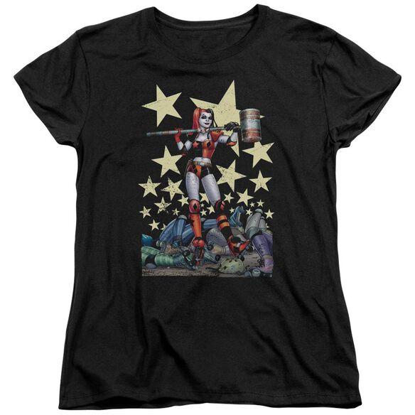 Batman Hammer Time Short Sleeve Womens Tee T-Shirt