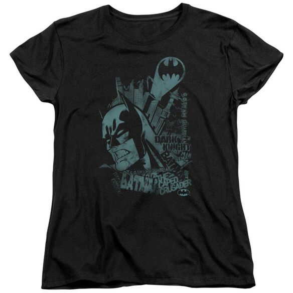 Batman Gritted Teeth Short Sleeve Women's Tee T-Shirt