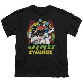 Power Rangers Dino Lightning Short Sleeve Youth T-Shirt