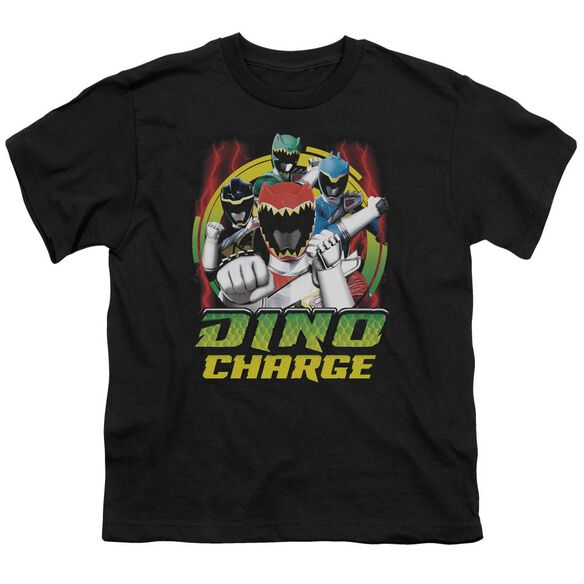 Power Rangers Dino Lightning Short Sleeve Youth T-Shirt