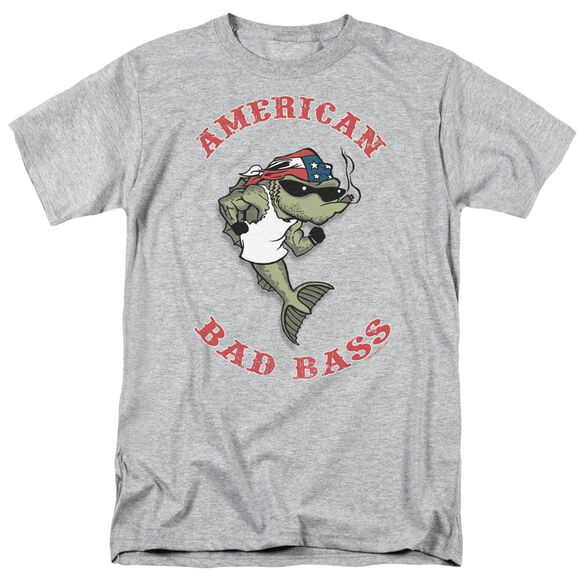 AMERICAN BAD ASS- ADULT 18/1 - ATHLETIC HEATHER T-Shirt