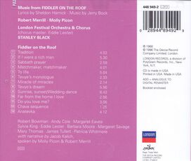 Robert Merrill / Molly Picon - Fiddler on the Roof [Decca]
