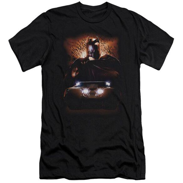 Batman Begins Batman & Tumbler Short Sleeve Adult T-Shirt