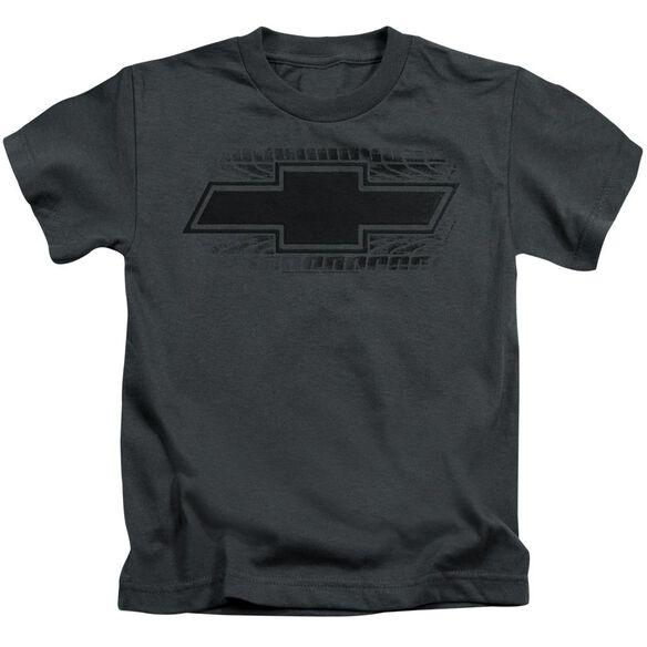 Chevrolet Bowtie Burnout Short Sleeve Juvenile T-Shirt